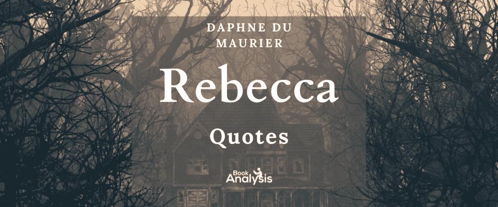 Rebecca Book Quotes
