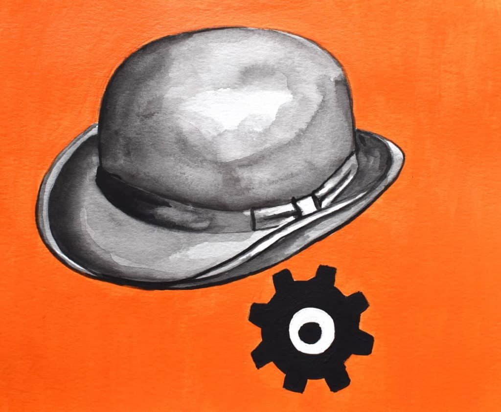 A Clockwork Orange by Stanley Kubrick Artwork