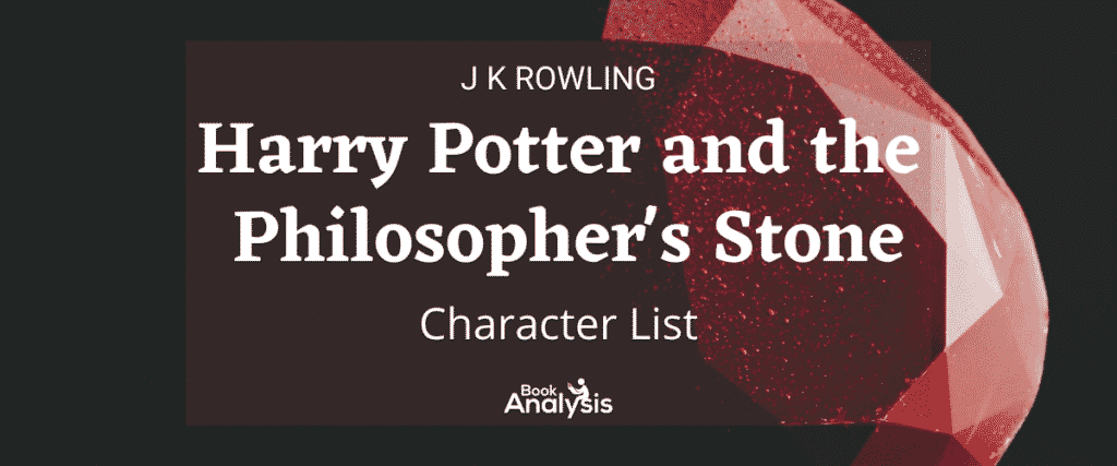 Harry Potter and the Philosopher's Stone Character List