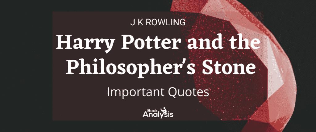 Harry Potter and the Philosopher's Stone Important Quotes