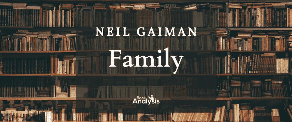 Neil Gaiman's Family
